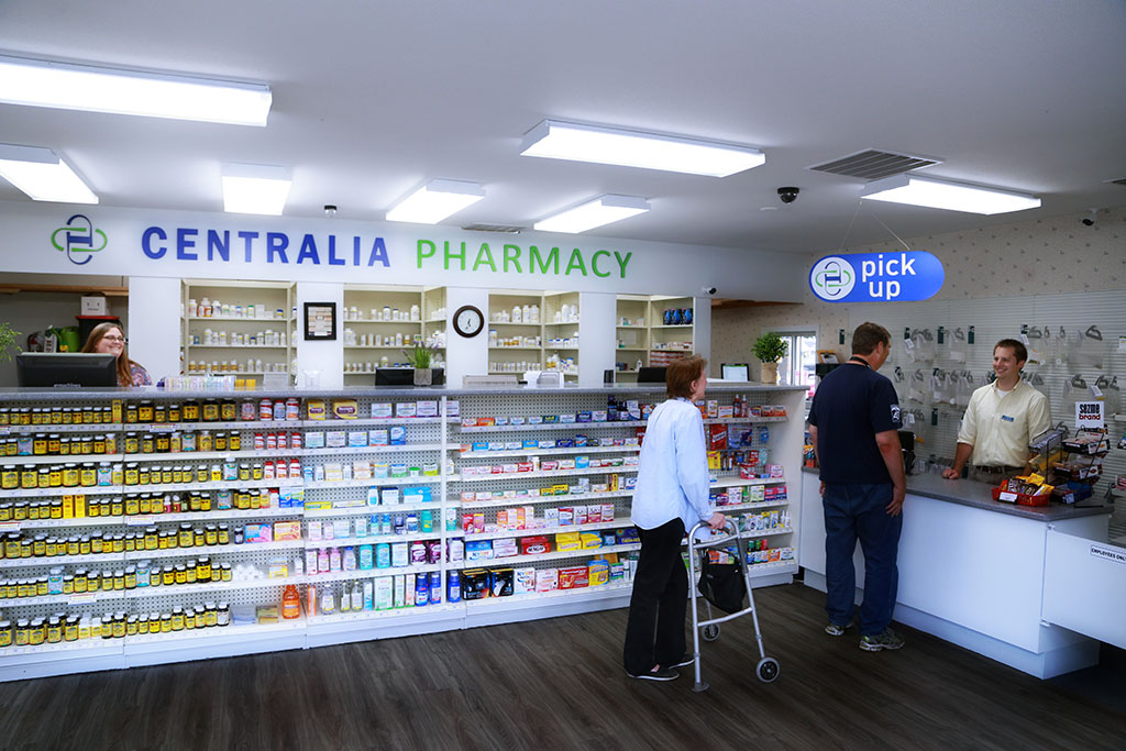 Pharmacies  >> Centralia Pharmacy Peninsula Pharmacies